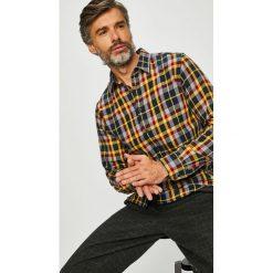 Tommy Hilfiger - Koszula. Szare koszule męskie Tommy Hilfiger, w kratkę, z bawełny, z klasycznym kołnierzykiem, z długim rękawem. Za 449.90 zł.