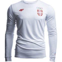 Longsleeve funkcyjny męski Serbia Pyeongchang 2018 TSMLF701 - biały. Bluzki z długim rękawem męskie marki Marie Zélie. W wyprzedaży za 99.99 zł.