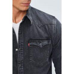 Levi's - Koszula. Brązowe koszule męskie Levi's, z bawełny, z klasycznym kołnierzykiem, z długim rękawem. W wyprzedaży za 259.90 zł.