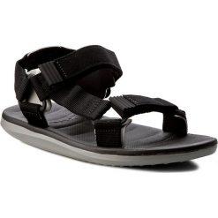 Sandały RIDER - Rx Sandal Ad 82137 Grey/Black 22544. Czarne sandały męskie Rider, z materiału. W wyprzedaży za 129.00 zł.