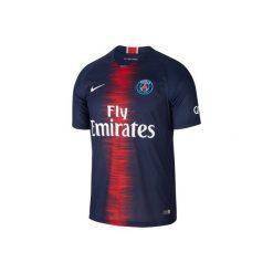 Koszulka do piłki nożnej krótki rękaw PSG. Szare t-shirty damskie Nike. Za 369.99 zł.