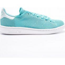 Adidas Originals - Buty Stan Smith. Szare obuwie sportowe damskie adidas Originals, z gumy. W wyprzedaży za 179.90 zł.