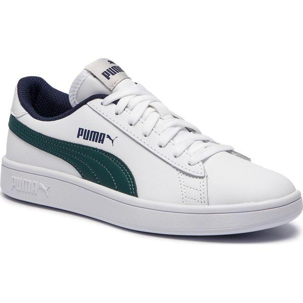 Sneakersy PUMA Smash V2 L Jr 365170 10 Puma WhitePonderosa Pine