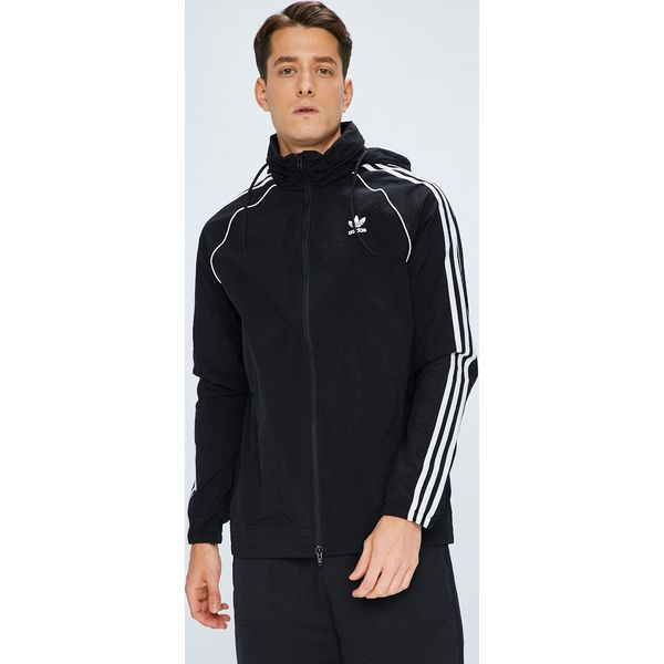 a3d036d033a01 adidas Originals - Kurtka - Czarne kurtki męskie marki adidas ...