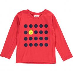 """Koszulka """"Thomas 712"""" w kolorze czerwonym. Zielone t-shirty dla chłopców marki Lego Wear Fashion, z bawełny, z długim rękawem. W wyprzedaży za 49.95 zł."""