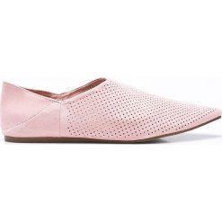 Answear - Baleriny Chc-Shoes. Szare baleriny damskie ANSWEAR, z materiału. W wyprzedaży za 59.90 zł.
