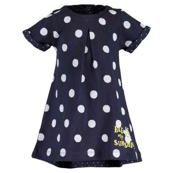 c58622cac6 Blue Seven Sukienka Dziewczęca W Kropki 62 Niebieska - Sukienki dla ...
