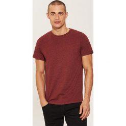 T-shirt basic - Bordowy. Czerwone t-shirty męskie House. Za 25.99 zł.