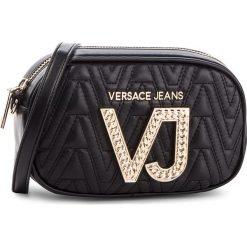 Torebka VERSACE JEANS - E1VSBBI1  70784 899. Czarne listonoszki damskie Versace Jeans, z jeansu. Za 619.00 zł.