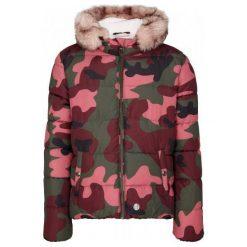 S.Oliver Pikowana Kurtka Zimowa Dziewczęca, Moro S Różowo-Zielona. Czerwone kurtki i płaszcze dla dziewczynek S.Oliver, na zimę, moro. Za 299.00 zł.