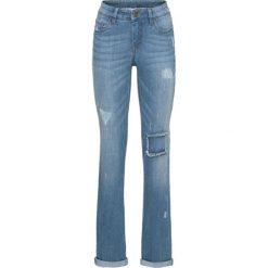 """Dżinsy STRAIGHT bonprix niebieski """"medium bleached"""". Jeansy damskie marki bonprix. Za 89.99 zł."""