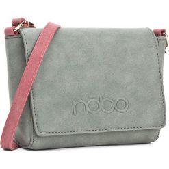 Torebka NOBO - NBAG-D3791-C008 Zielony. Zielone torebki do ręki damskie Nobo, ze skóry ekologicznej. W wyprzedaży za 109.00 zł.