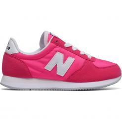 New Balance KL220PWY. Różowe buty sportowe dziewczęce New Balance, na lato, z materiału. W wyprzedaży za 169.99 zł.
