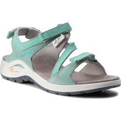 Sandały LOWA - Almeria 420370 Jade 0610. Zielone sandały damskie Lowa, ze skóry. W wyprzedaży za 289.00 zł.