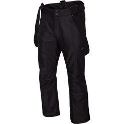 Spodnie narciarskie męskie SPMN350 - głęboka czerń. Spodnie snowboardowe męskie marki WED'ZE. Za 249.99 zł.