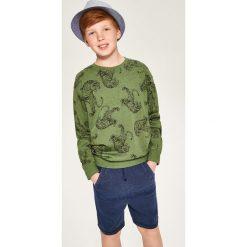 Bluza khaki - Zielony. Bluzy dla chłopców marki Reserved. W wyprzedaży za 19.99 zł.