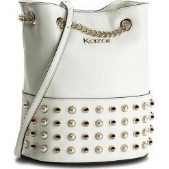 Torebka KAZAR - Florida 32640-01-01 White. Białe torebki do ręki damskie Kazar, ze skóry. W wyprzedaży za 479.00 zł.