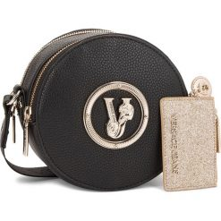 Torebka VERSACE JEANS - E1VSBBV2 70790 899. Czarne listonoszki damskie Versace Jeans, z jeansu. Za 619.00 zł.