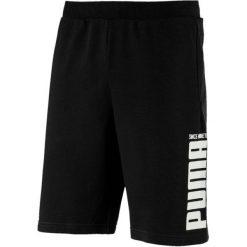 Puma Rebel Bold Shorts Cotton Black M. Czarne krótkie spodenki sportowe męskie Puma. Za 119.00 zł.