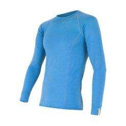 Sensor Koszulka Termoaktywna Z Długim Rękawem Merino Wool Active M Blue M. Niebieskie koszulki sportowe męskie Sensor, z materiału, z długim rękawem. Za 215.00 zł.
