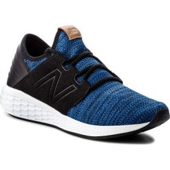 Buty NEW BALANCE - MCRUZKR2 Niebieski. Niebieskie buty sportowe męskie New Balance, z materiału. W wyprzedaży za 269.00 zł.