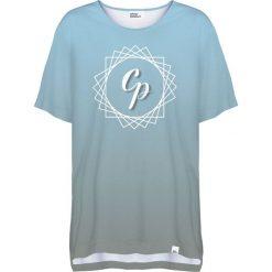 Colour Pleasure Koszulka damska CP-033 292 szaro-niebieska r. uniwersalny. T-shirty damskie Colour Pleasure. Za 76.57 zł.