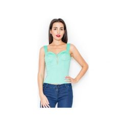 Bluzka K102 Zielony. Zielone bluzki damskie Katrus, z długim rękawem. Za 79.00 zł.