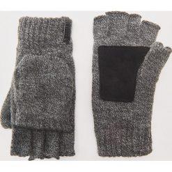 Rękawiczki typu mitenki - Szary. Szare rękawiczki męskie House. Za 49.99 zł.