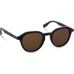 Okulary przeciwsłoneczne BOSS - 0321/S Mtblue Wood 2WF. Niebieskie okulary przeciwsłoneczne męskie Boss, z tworzywa sztucznego. W wyprzedaży za 399.00 zł.
