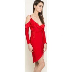 Missguided - Sukienka. Szare sukienki damskie Missguided, z elastanu, casualowe. W wyprzedaży za 69.90 zł.