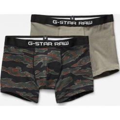 G-Star Raw - Bokserki (2-pack). Czarne bokserki męskie G-Star Raw, z bawełny. Za 159.90 zł.