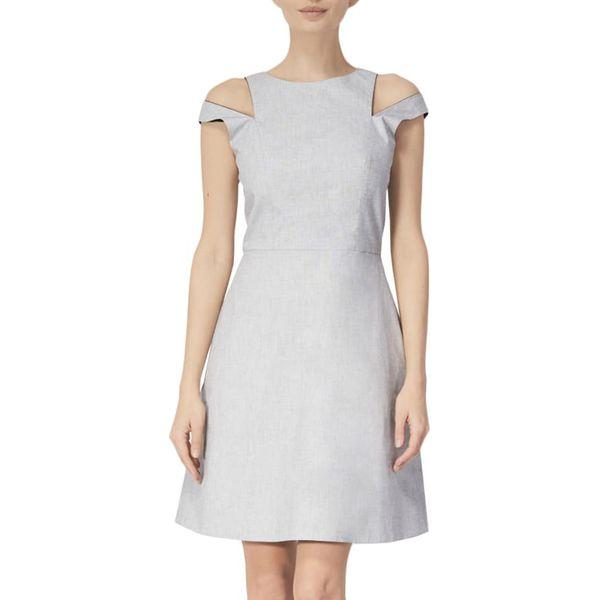 013282c31b Sukienka w kolorze jasnoszarym - Szare sukienki damskie marki ...