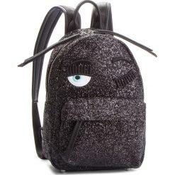 Plecak CHIARA FERRAGNI - 18AI-CFZ004 Nero. Czarne plecaki damskie Chiara Ferragni, ze skóry ekologicznej, klasyczne. Za 1,829.00 zł.
