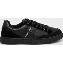 Versace Jeans - Buty. Czarne buty sportowe męskie Versace Jeans, z jeansu. Za 579.90 zł.