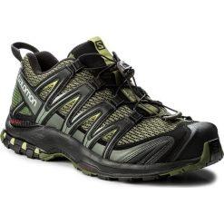 Buty SALOMON - Xa Pro 3D 392519 27 V0 Chive/Black/Beluga. Zielone buty sportowe męskie Salomon, z materiału. W wyprzedaży za 389.00 zł.