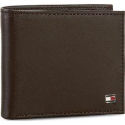 Duży Portfel Męski TOMMY HILFIGER - Eton Mini Cc Wallet AM0AM00655 041. Szare portfele męskie marki Giacomo Conti, na zimę, z tkaniny. Za 229.00 zł.
