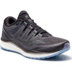 Buty SAUCONY - Freedom Iso 2 S20440-1 Blk. Czarne buty sportowe męskie Saucony, z materiału. Za 699.00 zł.