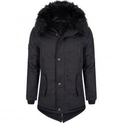 Płaszcz zimowy w kolorze czarnym. Czarne płaszcze męskie Giorgio di Mare, na zimę. W wyprzedaży za 521.95 zł.