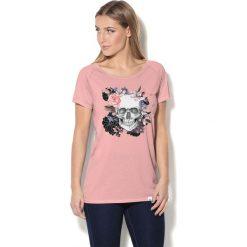 Colour Pleasure Koszulka CP-034 230 różowa r. XL/XXL. T-shirty damskie marki Colour Pleasure. Za 70.35 zł.