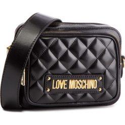 Torebka LOVE MOSCHINO - JC4004PP17LA0000 Nero. Czarne listonoszki damskie Love Moschino, ze skóry ekologicznej. Za 719.00 zł.