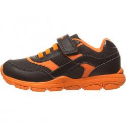 Sneakersy w kolorze czarno-pomarańczowym. Brązowe trampki i tenisówki chłopięce Geox Kids, z materiału. W wyprzedaży za 117.95 zł.