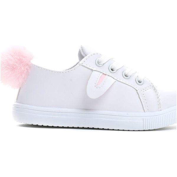 a6a46dee Białe Buty Sportowe Funny Bunny - Buty sportowe dziewczęce Born2be ...