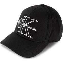 Czapka z daszkiem CALVIN KLEIN JEANS - Re-Issue Baseball K40K400101 001. Czarne czapki i kapelusze męskie Calvin Klein Jeans, z bawełny. Za 149.00 zł.