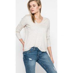 Pepe Jeans - Sweter Allen. Szare swetry damskie Pepe Jeans, z bawełny. W wyprzedaży za 159.90 zł.