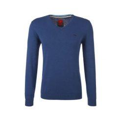 S.Oliver Sweter Męski Xl Niebieski. Niebieskie swetry przez głowę męskie S.Oliver, z bawełny. W wyprzedaży za 109.00 zł.