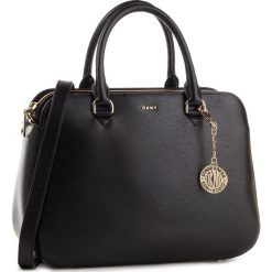 Torebka DKNY - Bryant Md Satchel R83D3620 Blk/Gold BGD. Czarne torebki do ręki damskie DKNY, ze skóry. Za 1,199.00 zł.