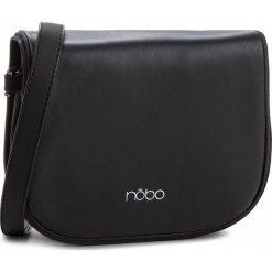 Torebka NOBO - NBAG-F1112-C020 Czarny. Czarne listonoszki damskie Nobo, ze skóry ekologicznej. W wyprzedaży za 109.00 zł.