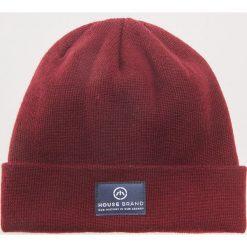 Czapka - Bordowy. Czerwone czapki i kapelusze męskie House. Za 29.99 zł.