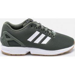 Adidas Originals - Buty ZX Flux. Szare obuwie sportowe damskie adidas Originals, z gumy. W wyprzedaży za 299.90 zł.