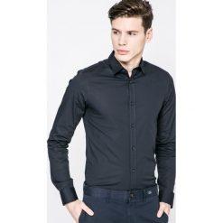 Only - Koszula. Szare koszule męskie Only, z bawełny, z klasycznym kołnierzykiem, z długim rękawem. W wyprzedaży za 79.90 zł.
